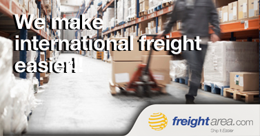 We make international freight easier