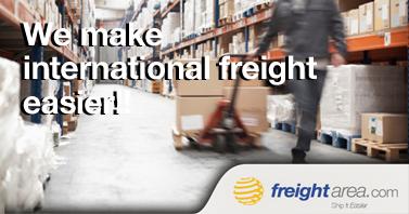We make international freight easier